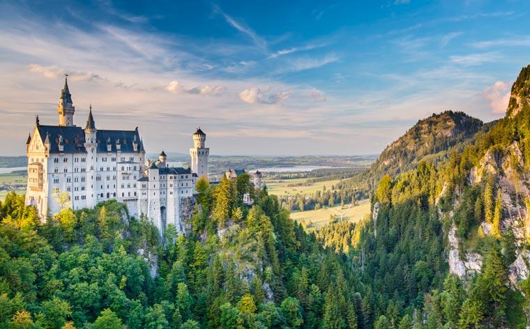 Almanya Romantik Yol: Almanya'nın masalsı rotası için mükemmel bir rehber